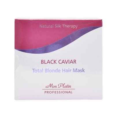 מסכה סילבר Black Caviar Total Blonde